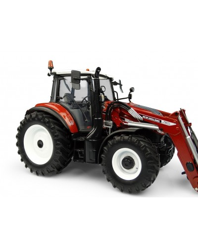 Universal Hobbies 1/32 Scale New Holland T5.120 Centenario with Front Loader TL470 Tractor -Terracotta - Diecast Replica UH6235