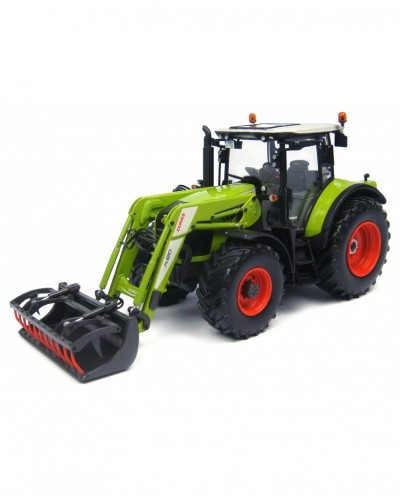 Universal Hobbies 1/32 Scale Claas Arion 530 with Front Loader Tractor Diecast Replica UH4299
