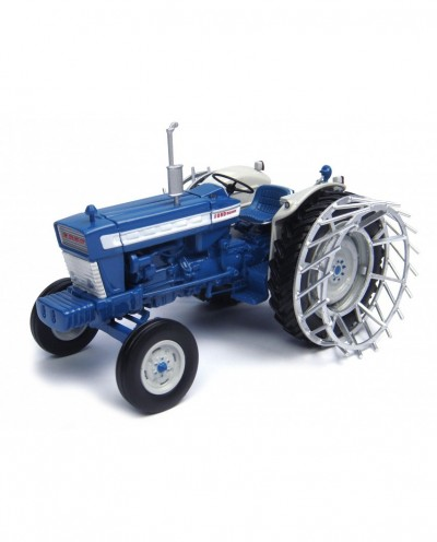 Ford 5000 with metal cage wheels Tractor Diecast Replica - 1:32 Universal Hobbies
