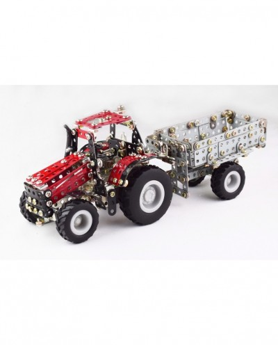 Tronico Micro Series - Case IH Magnum with Trailer - 580 Parts - DIY Metal Kit T9580