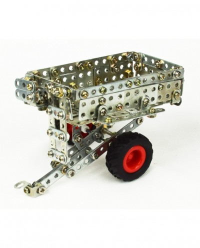 Tronico Micro Series - Claas Arion 430 with Trailer - 588 Parts - DIY Metal Kit T9500