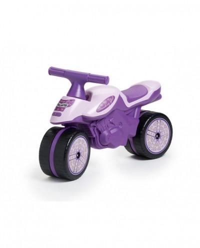 Bike - Strawberry Girl Baby Moto Pink - Push-Along - +1 year