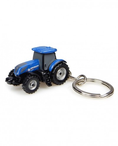 New Holland T7.225 Tractor - Keychain Diecast - Universal Hobbies