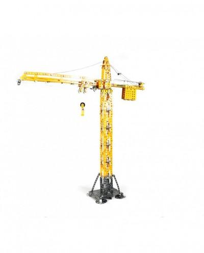 Tonico Profi Series - Liebherr Tower Crane - 1008 Parts - DIY Metal Kit T10099