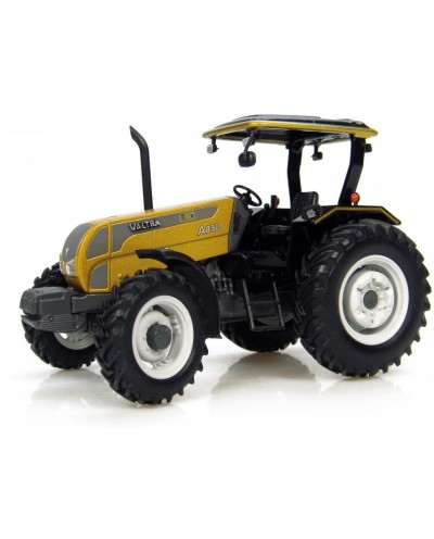 "Universal Hobbies 1/32 Scale Valtra A 850 ""Gold Edition"" Tractor Diecast Replica Ltd 2500 pcs UH4011"