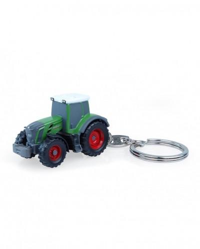 Universal Hobbies Fendt 828 Vario Nature Green Tractor Metal Keychain UH5845
