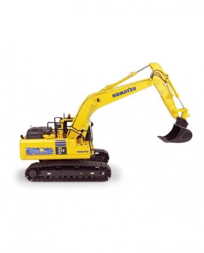 Universal Hobbies 1/50 Scale Komatsu HB215 LC3 Hybrid Excavator Diecast Replica UH8135