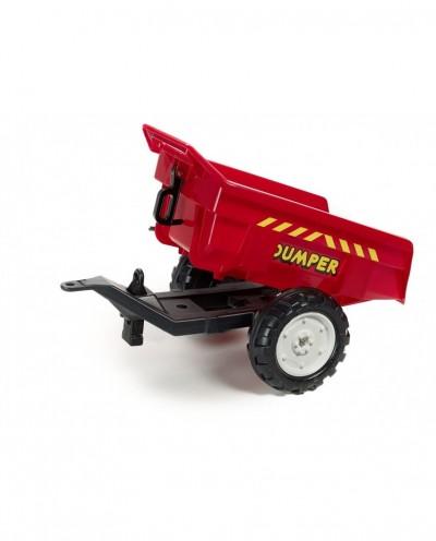 2-Wheels Dumper Trailer -RED