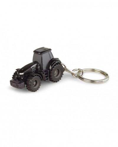 Universal Hobbies Deutz-hr Agrotron 9340TTV Black Warrior Tractor Metal Keychain UH5849