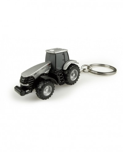 """Universal Hobbies Case IH Magnum 315 """"150.000th Edition"""" Tractor Metal Keychain UH5823"""