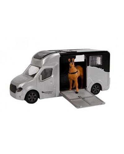 Horse truck with light and sound and it's horse figurine