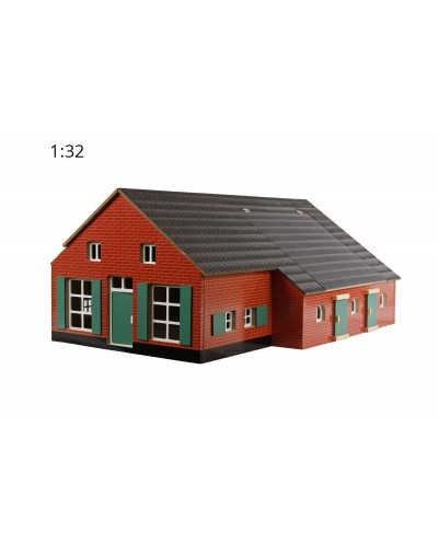 Kids Globe 1:32 scale Farmhouse with stable KG610111