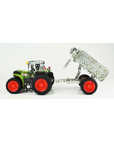 Tronico Mini Series Claas Arion 430 Tractor with Trailer - 700 Parts - DIY Metal Kit T10011