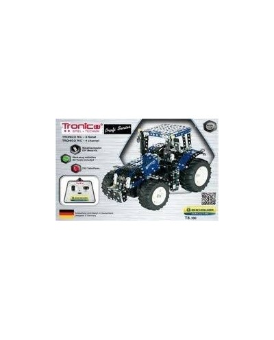 Tronico Profi Series New Holland T8.390 Tractor with Remote Control - 732 Parts - DIY Metal Kit T10057