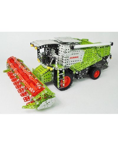 Tronico Profi Series Claas Lexion 770 Combine Harvester with Trailer and Mower - 2697 Parts - DIY Metal Kit T10059
