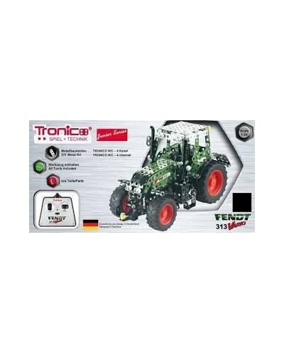 Tronico Junior Series - Fendt Vario 313 with Remote Control - 574 Parts - DIY Metal Kit T10069