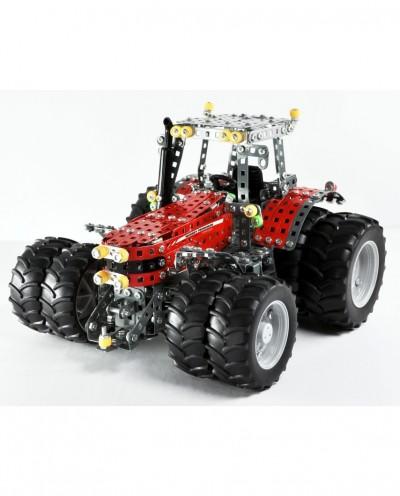 Tonico Profi Series - Massey Ferguson 8690 with Twin tires - 1057 Parts - DIY Metal Kit T10083