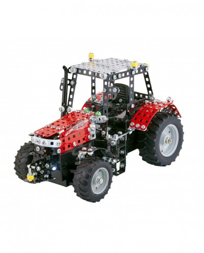 Tronico Junior Series - Massey Ferguson 5430 with Remote Control - 526 parts - DIY Metal Kit T10087