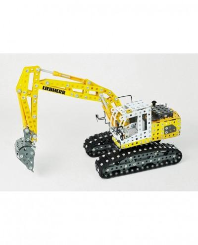 Tonico Profi Series - Liebherr Crawler Excavator - 1283 Parts - DIY Metal Kit T10100