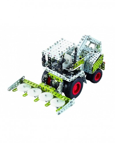 Tronico Micro Series - Claas Jaguar 980 with Infra Red Controlled - 591 Parts - DIY Metal Kit T9511