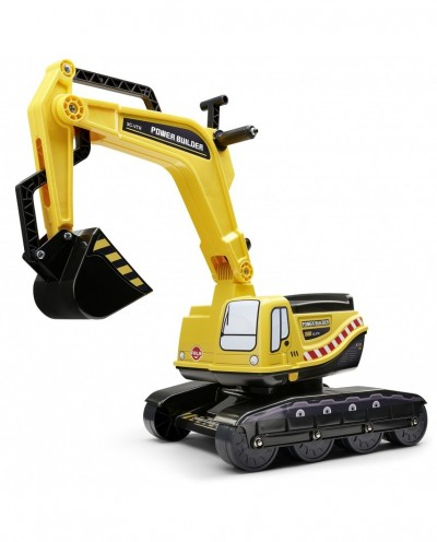Falk Power Builder Excavator with Opening seat, Ride-on and Push-along +3 years FA120