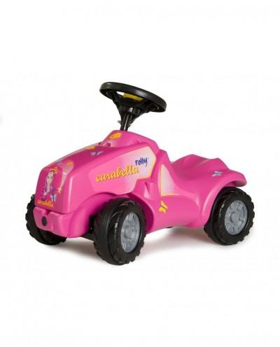 Carabella Push-Along Tractor - Pink