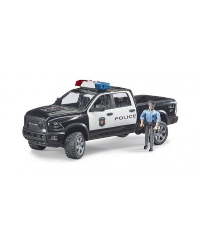 RAM 2500 Police with Policeman