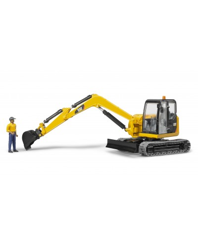 CATMinit Excavator with worker