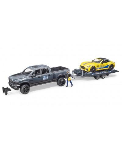 RAM 2500 Power Wagon w BRUDER Roadster Racing Team