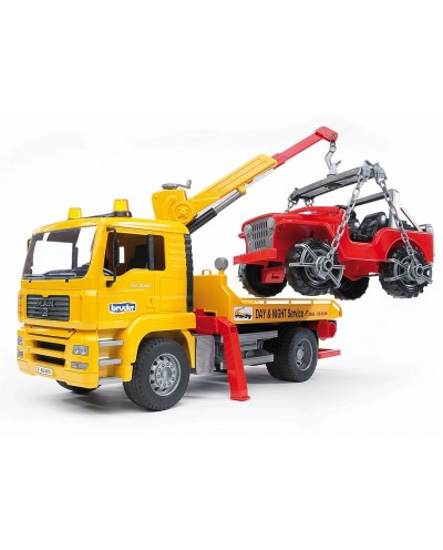 MAN TGA Tow Truck with Cross Country Vehicle