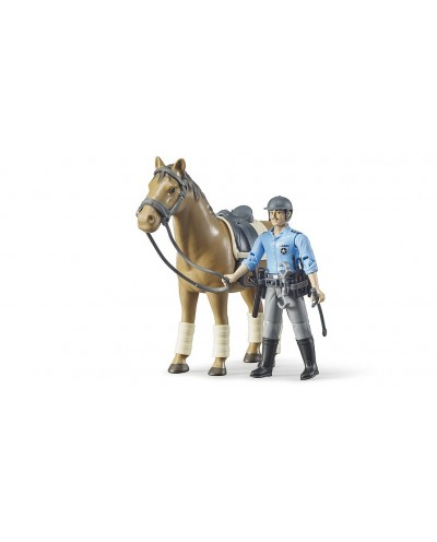 bworld Police with horse