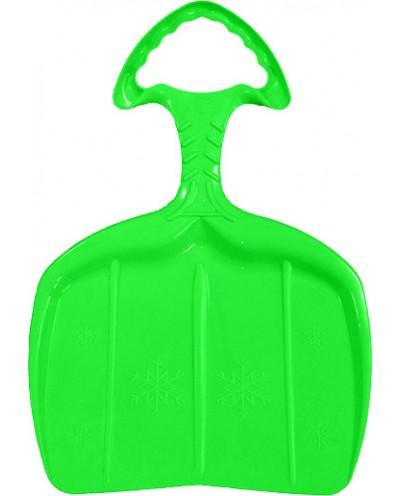 Kid shovel sled - green