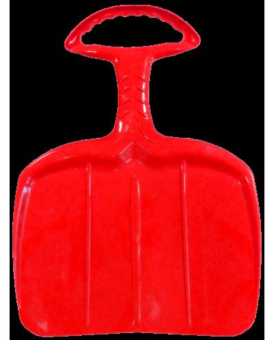 Adult shovel sled - red