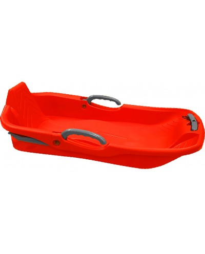 1 place snow sled - red
