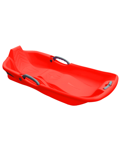 2 seats snow sled - red